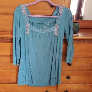 NWT Panhandle Knit 3/4 Sleeve Shirt